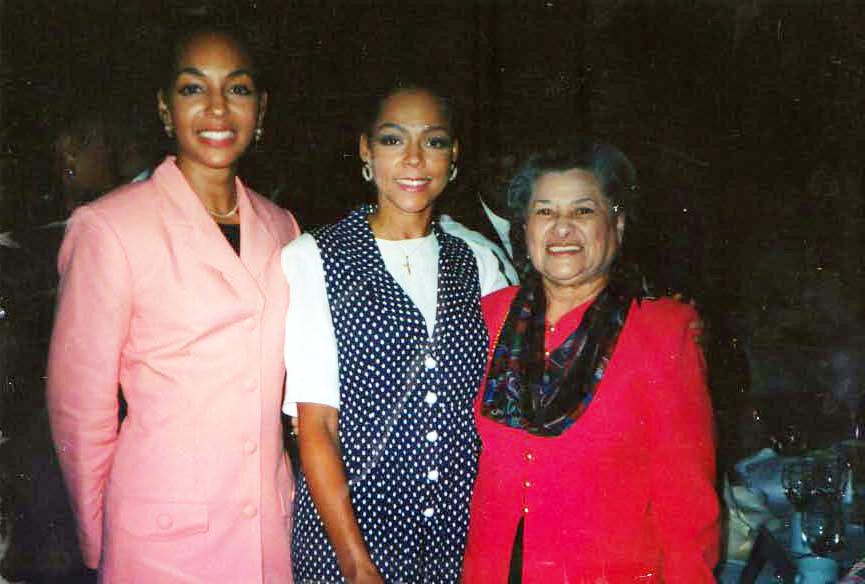 Teresa Kay-Aba Kennedy, Sheila Kennedy and Azira Hill