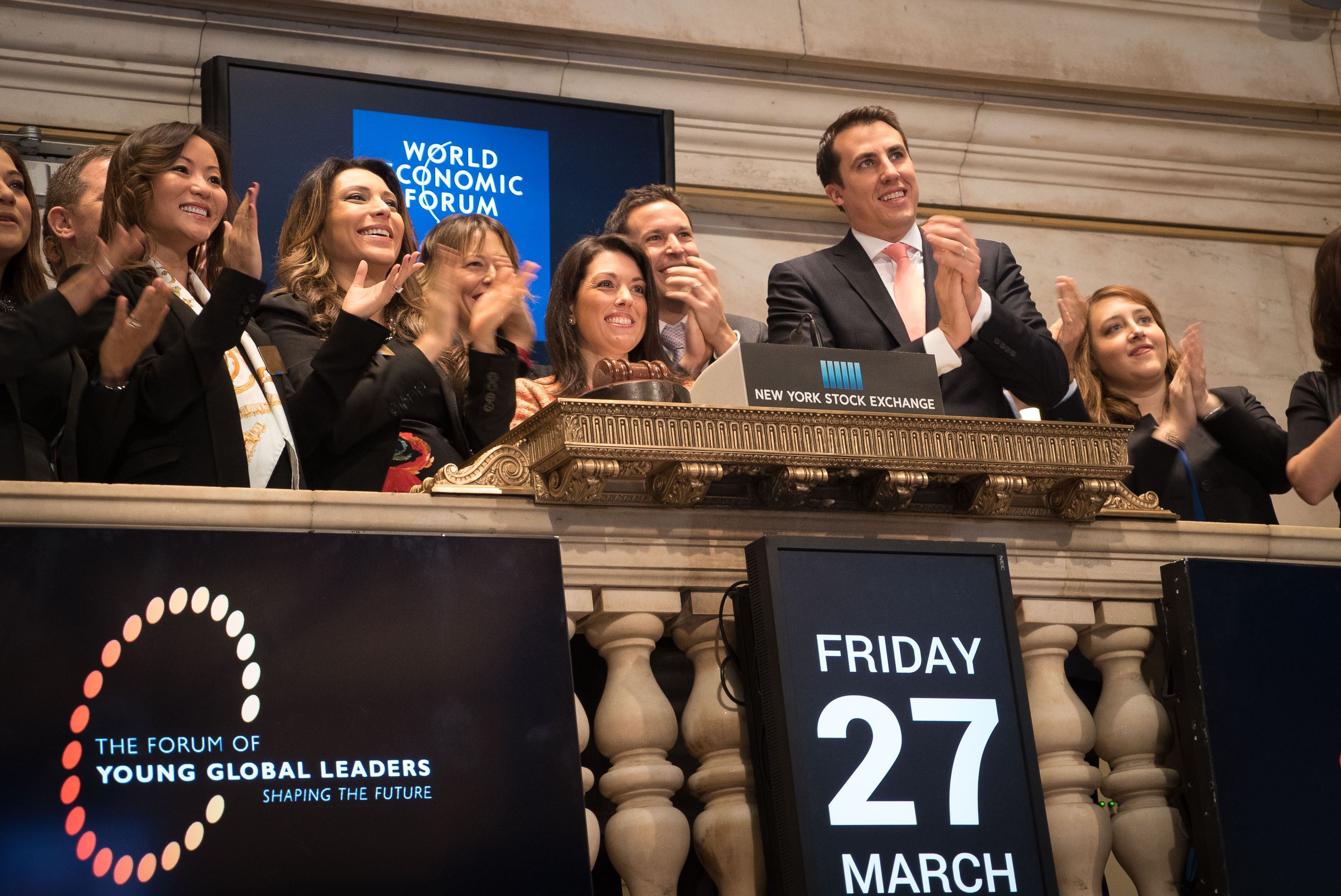 NYSE Opening Bell Ceremony
