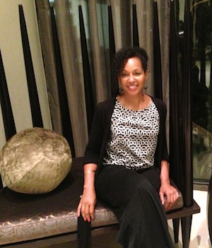 Teresa Kay-Aba Kennedy at the Royal Marang Hotel in South Africa during the Young Global Leaders Africa Module - November 2013