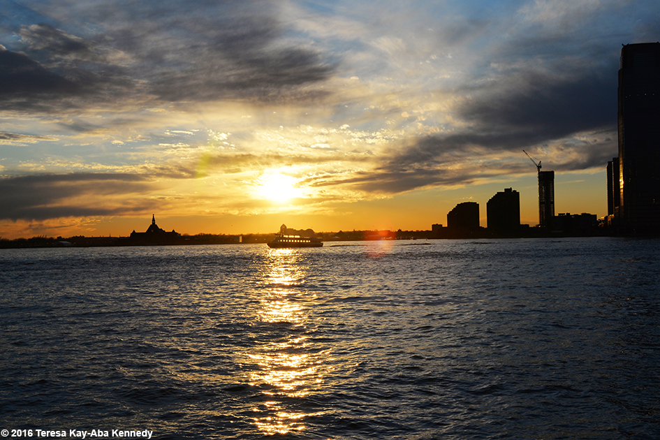 New York at Sunset – March 17, 2016