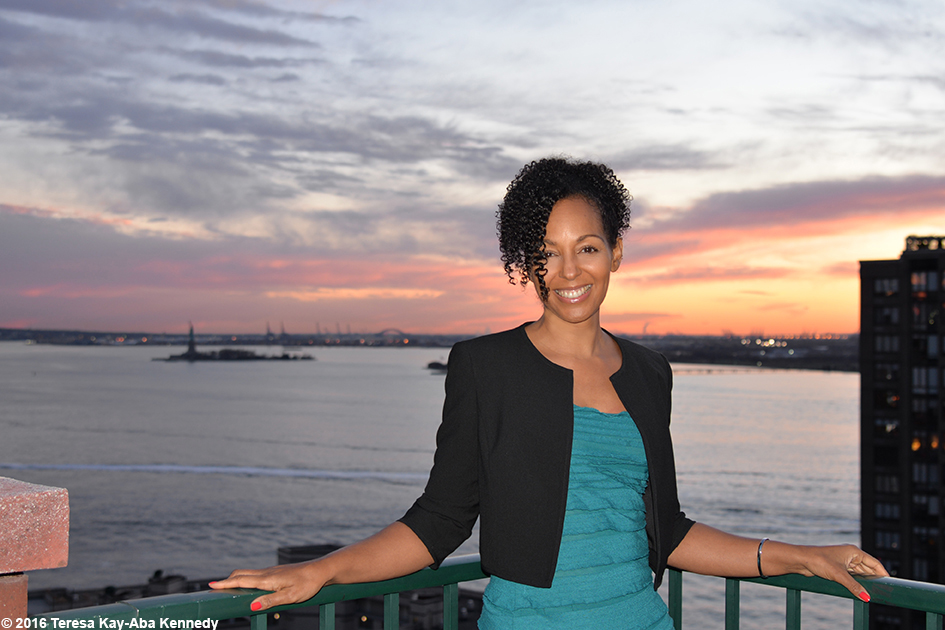 Teresa Kay-Aba Kennedy at Young Global Leader gathering in New York – March 17, 2016