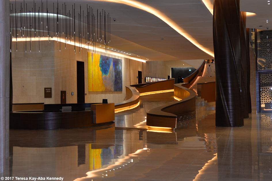 Ethiad Museum in Dubai, United Arab Emirates – February 11, 2017