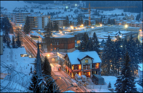 Davos-Klosters, Switzerland during the World Economic Forum Annual Meeting - January 2010